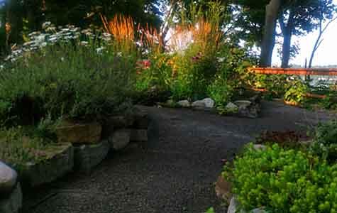 image of raised nature garden