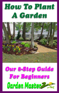 how to plant a garden pinterest image