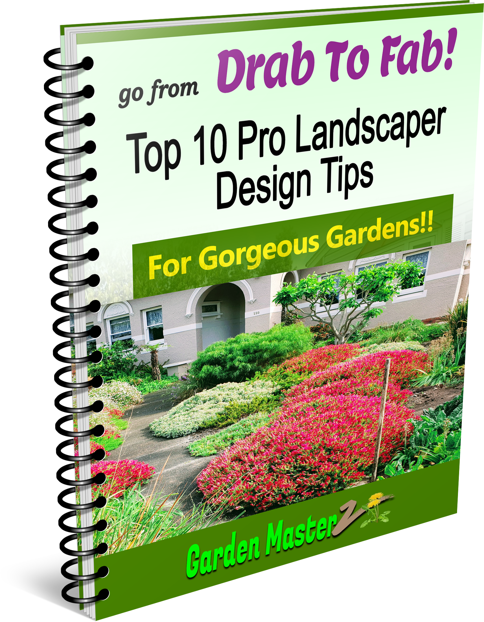 Drab To Fab - Top 10 Tips - 3D Ebook Cover Final